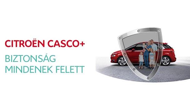 Citroën Casco+ magánügyfeleknek